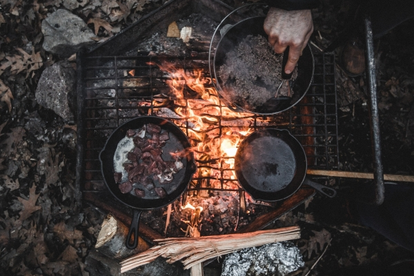The great Australian challenge – campfire cooking!